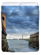 Whitby Morning Tide 2 Duvet Cover