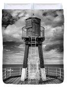 Whitby Pier Duvet Cover