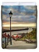 Whitby Sun Set Duvet Cover