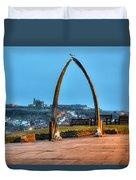 Whitby Whalebone Blue Hour Duvet Cover