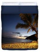 White Bay  Duvet Cover