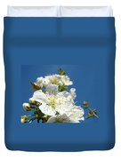 White Blossoms Art Prints Spring Tree Blossoms Canvas Baslee Troutman Duvet Cover