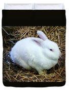 White Bunny Duvet Cover