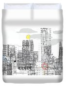 White City Duvet Cover by Andy  Mercer
