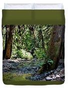 White Creek Duvet Cover