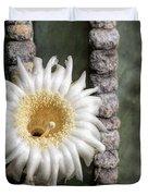 White Desert Jewel Duvet Cover