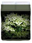 White Dogwood Duvet Cover