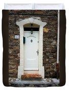 White Door 23 Duvet Cover