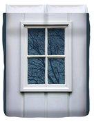 White Door Detail Duvet Cover