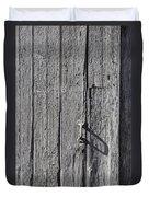 White Door Handle Duvet Cover