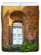 White Door Duvet Cover