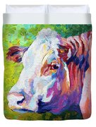 White Face Cow Duvet Cover