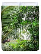 White Faced Capuchin Monkey Costa Rica Duvet Cover