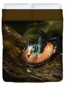 White-faced Whistling Duck  Duvet Cover