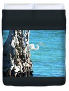 White Fisherman Duvet Cover