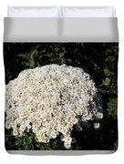 White Flowers Duvet Cover