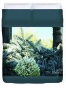 White Flowers W15 Duvet Cover