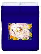 White Gardenia Duvet Cover