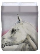 White Horse- Arabian Duvet Cover