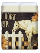 White Horse Farms Vermont Duvet Cover