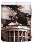 White House Washington Dc Duvet Cover