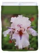 White Iris Duvet Cover