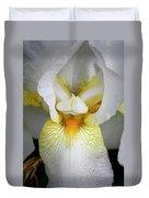 White Iris Study No 1 Duvet Cover