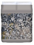 White Irish Flower Duvet Cover