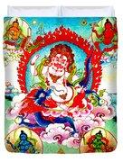 White Jambhala  2 Duvet Cover