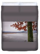 White Lake Duvet Cover