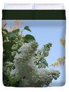 White Lilac Duvet Cover