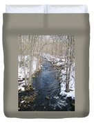 White Mill Park - Winter 2 Duvet Cover