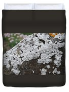 White Moss Duvet Cover