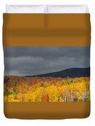 White Mountain Hillside Duvet Cover