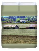 White Mustard Sheds 1584 Duvet Cover