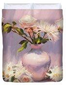 White On White Duvet Cover by Steve Henderson