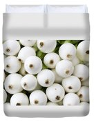 White Onions Duvet Cover by John Trax