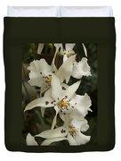 White Orchids 2 Duvet Cover