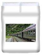 White Pass And Yukon Railway Duvet Cover