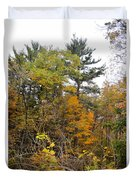 White Pine Hollow State Forest Duvet Cover