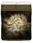 White Plum Blossom- 2 Duvet Cover