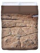 White Pocket - Nature's Pavement Duvet Cover