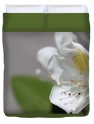 White Reaching Out 2 Duvet Cover