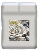 White Rose Duvet Cover