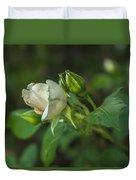 White Rose II Duvet Cover