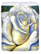 White Rose Two Duvet Cover