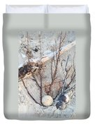 White Sand Beach Finds Duvet Cover