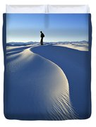 White Sands National Monument, Nm Usa Duvet Cover
