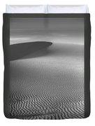 White Sands Sunset Dune Duvet Cover