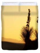 White Sands Sunset Duvet Cover